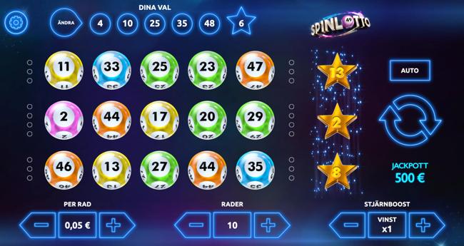 spinlotto lottospel online